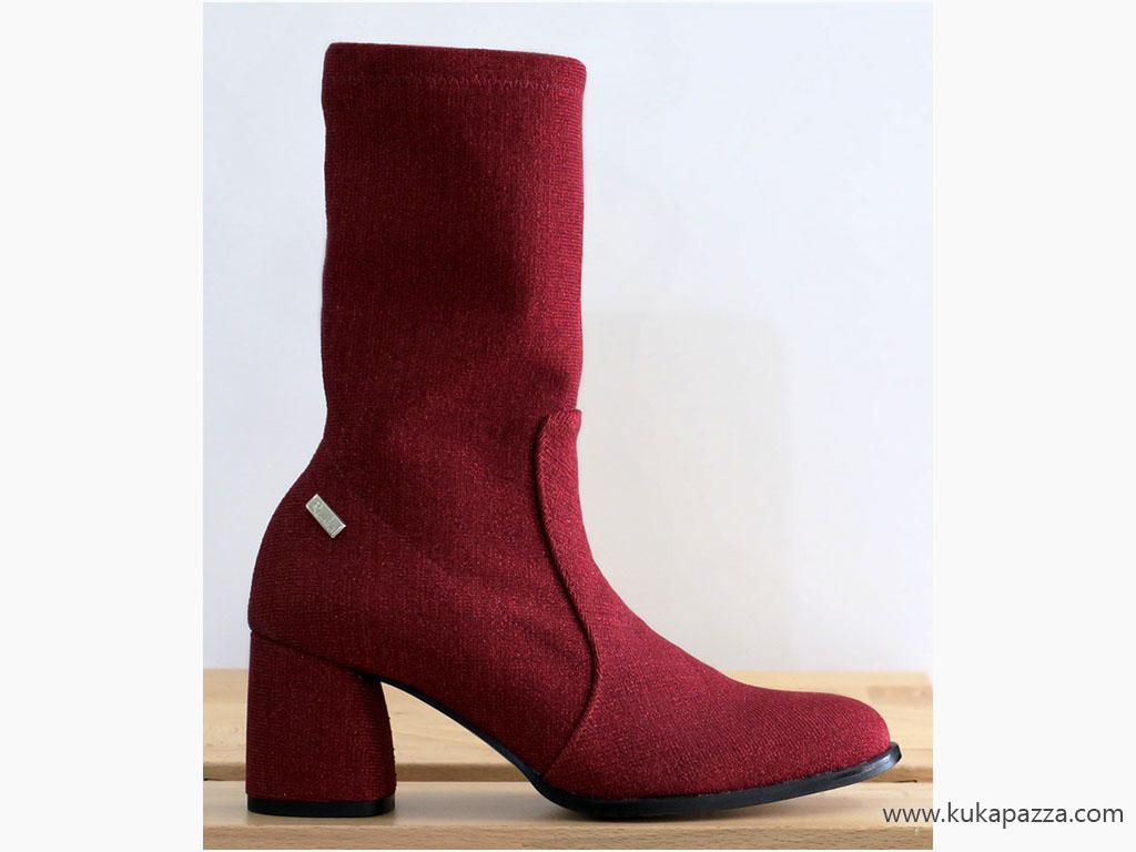 Bota Licra Red