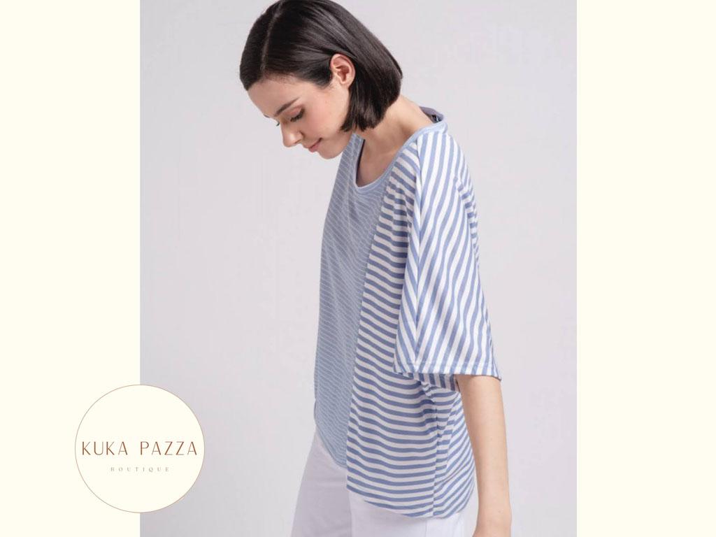 T-shirt Oversize Stripes