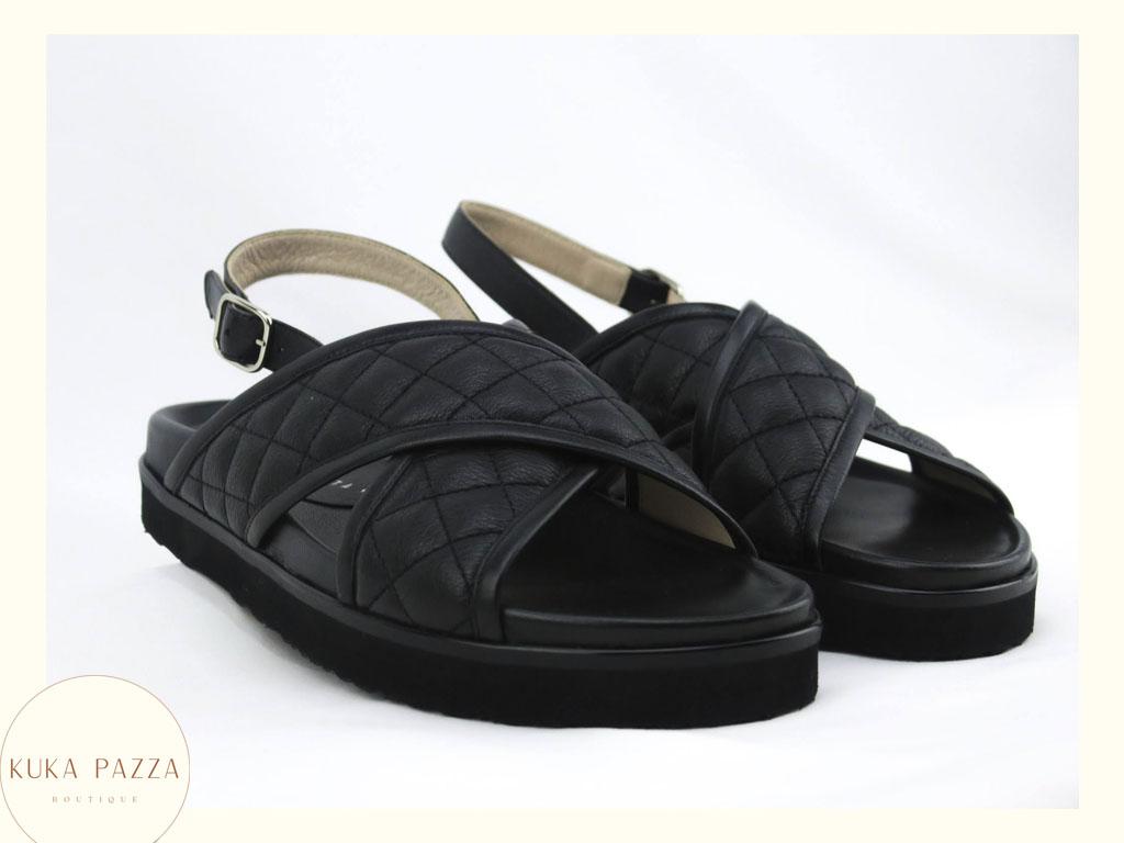 Sandália Black Cushion