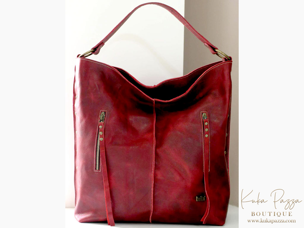 Mala Red Leather