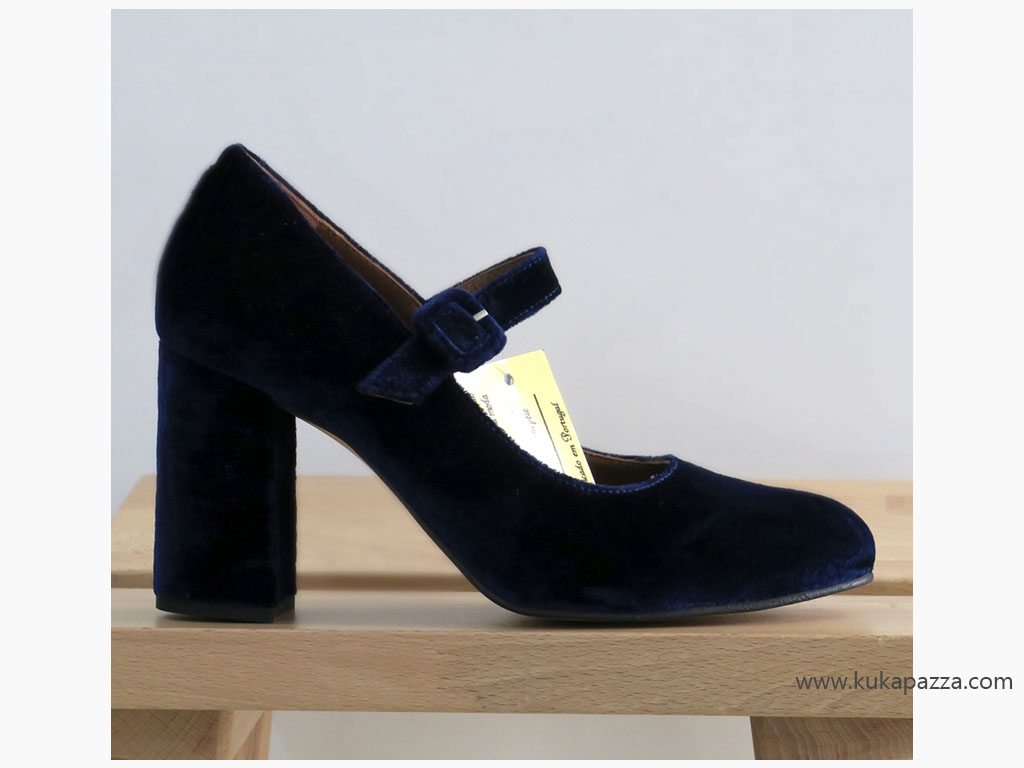 Sapato Barroco Azul
