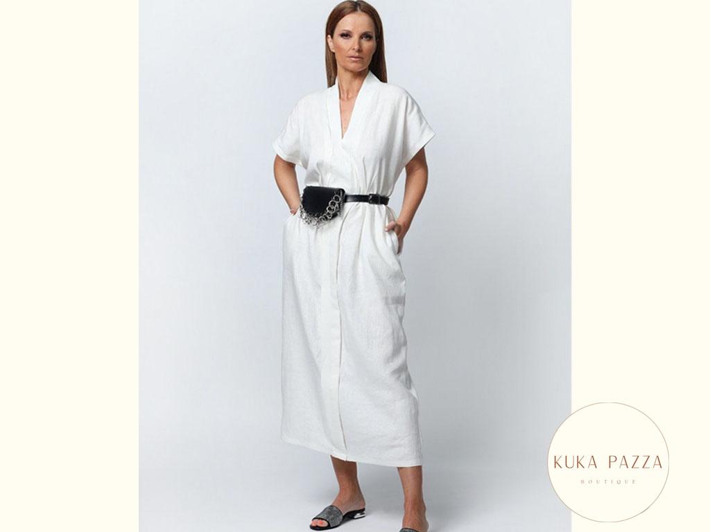 Vestido Comprido Linen