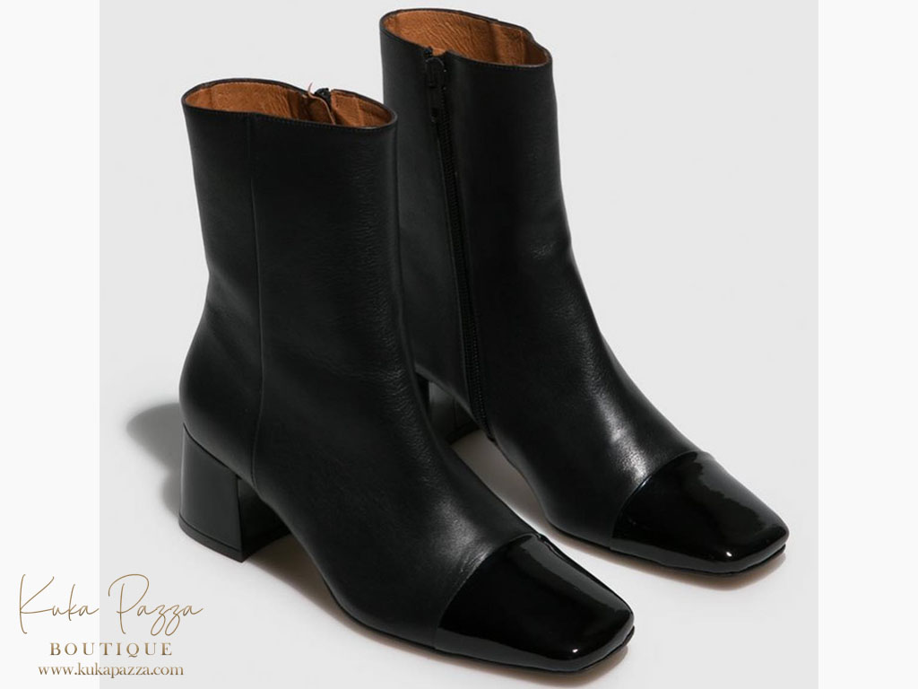 Bota Black Shine