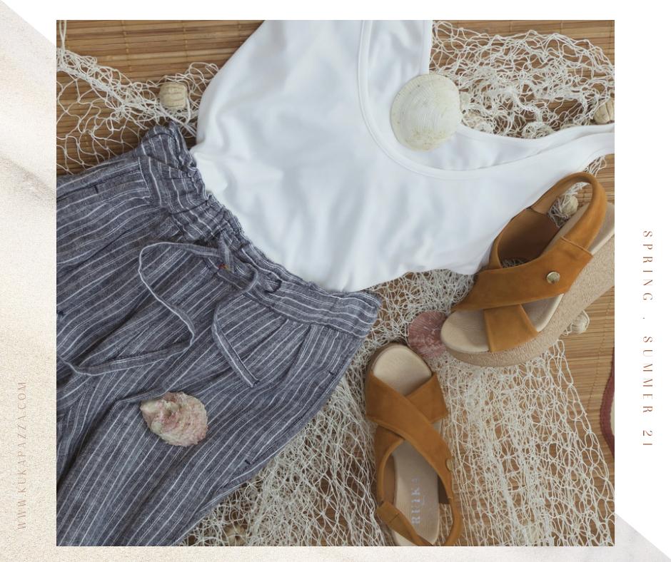 Calça Cotton Stripes
