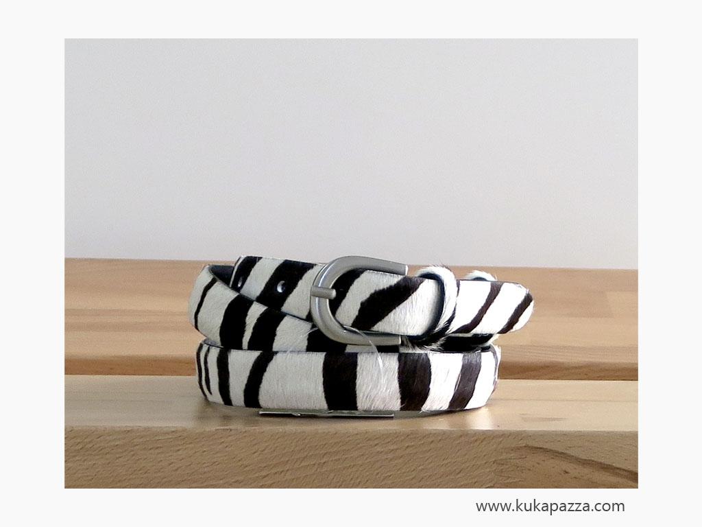 Cinto Pelo Fino Zebra