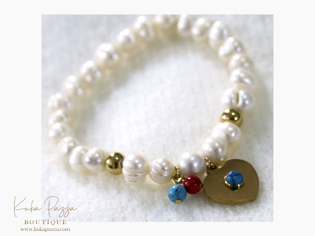 Pulseira Pearly Charms