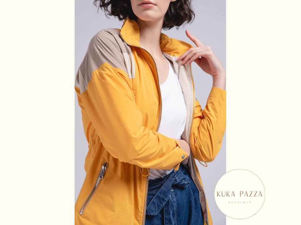 Casaco Rain Yellow