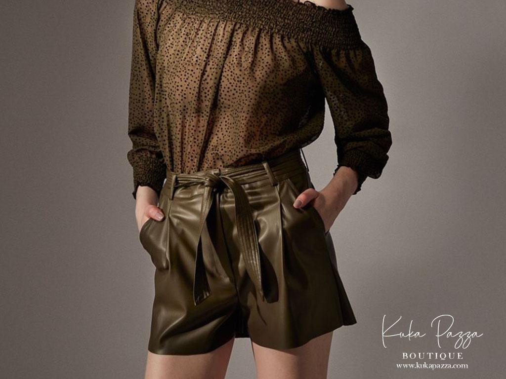 Calção Leather
