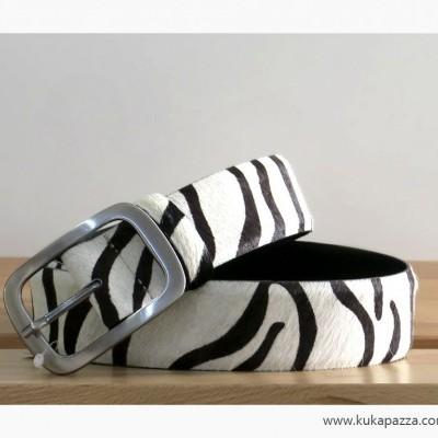 Cinto Pelo Largo Zebra
