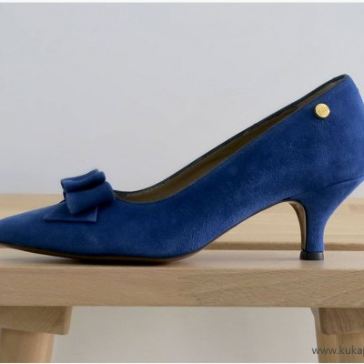 Sapato Blue Bow