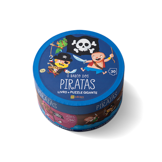 Puzzle Gigante - O Barcos dos Piratas