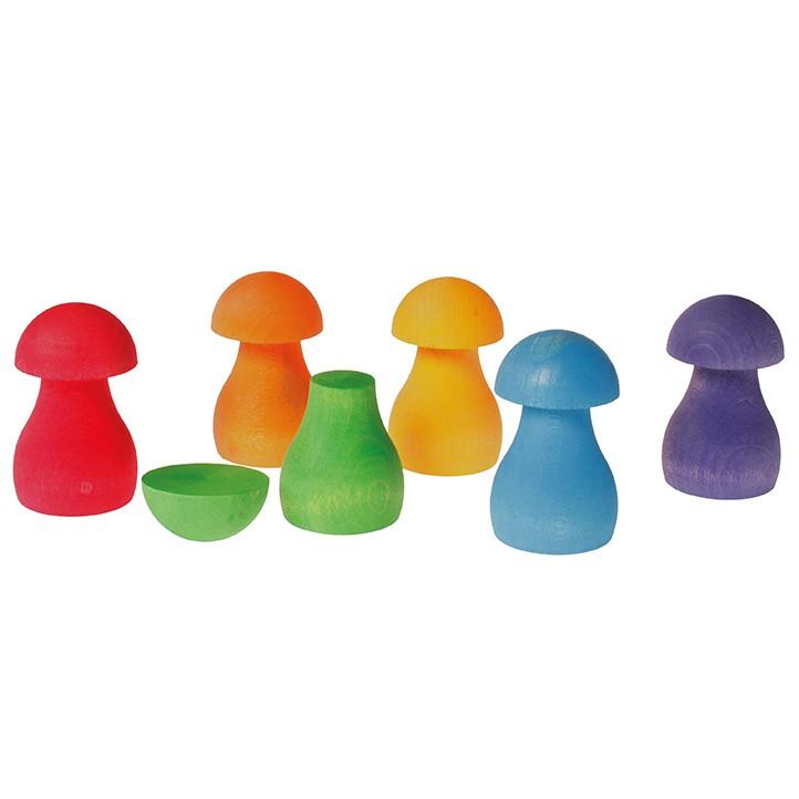 Cogumelos Arco-Íris