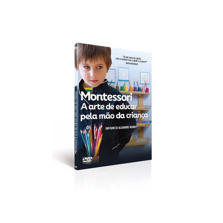 DVD Montessori: A arte de educar pela mão da criança