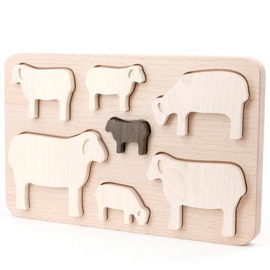 Puzzle das Ovelhas