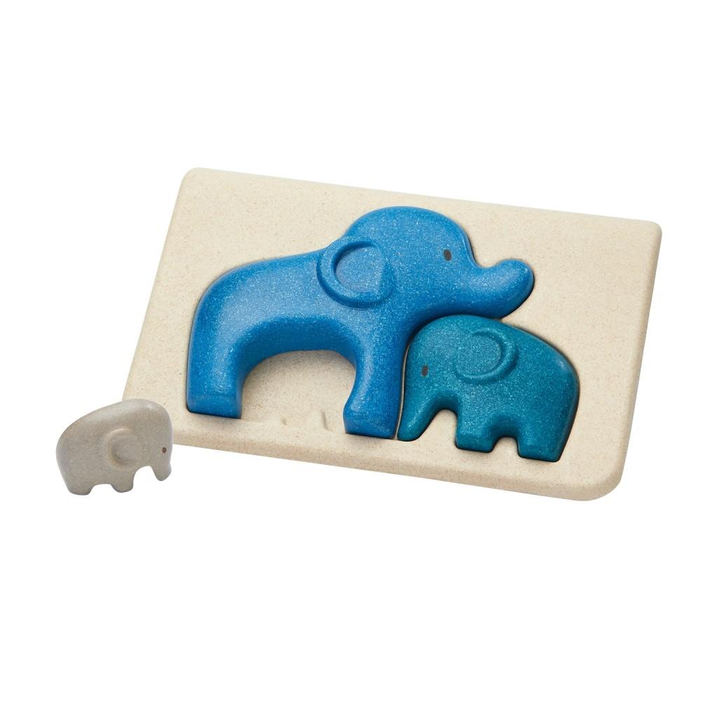 Primeiro Puzzle - Elefantes