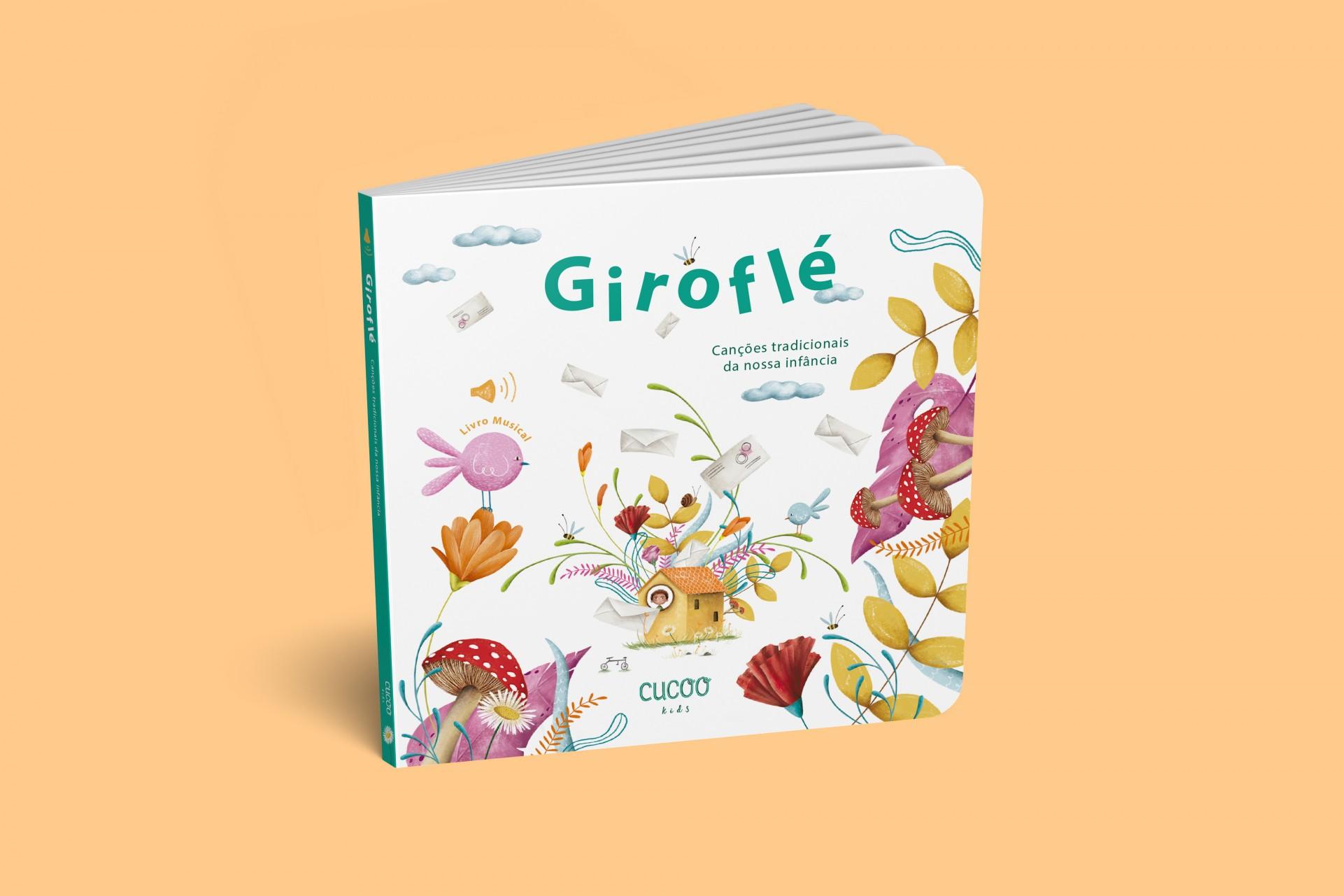 Livro Musical Giroflé