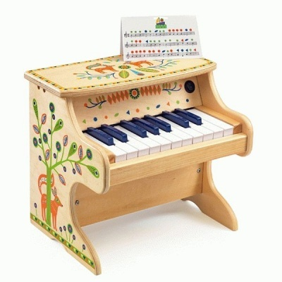 Piano Eletrónico 18 teclas