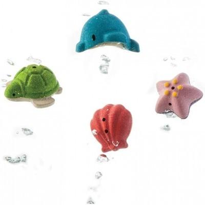 Set de Banho Animais Marinhos