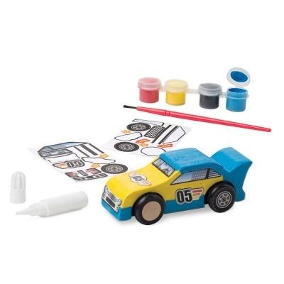 Set Construir Carro de Madeira