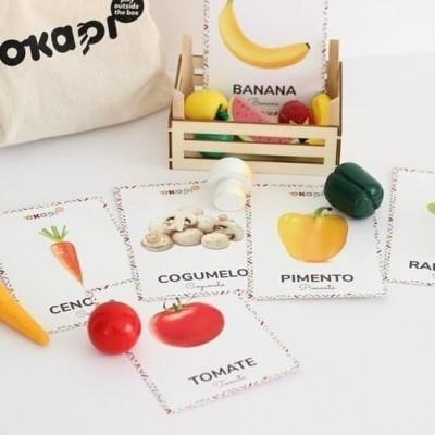 Pack de Frutas e Legumes (Lazy Baby Studio & Okapi)