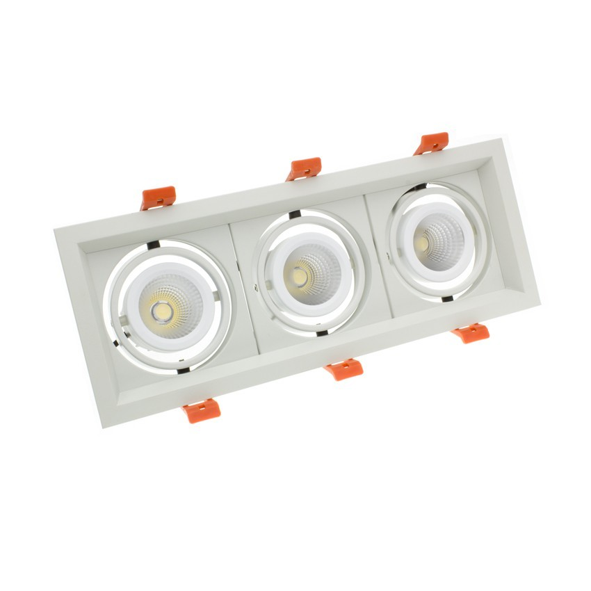 Downlight LED CREE-COB Direccionável Madison Branco 3x10W