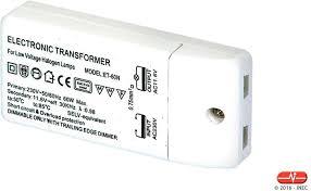 Transformador eletrónico 230V/12V 10-60W