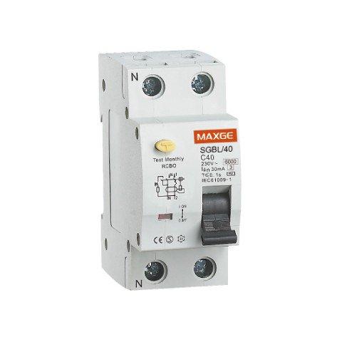 Interruptor Diferencial  1P+N-40A-30mA