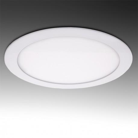 Painel LED  Redondo 12W Branco