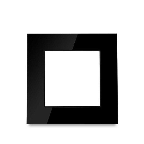 Serie Vidro Branco/Preto
