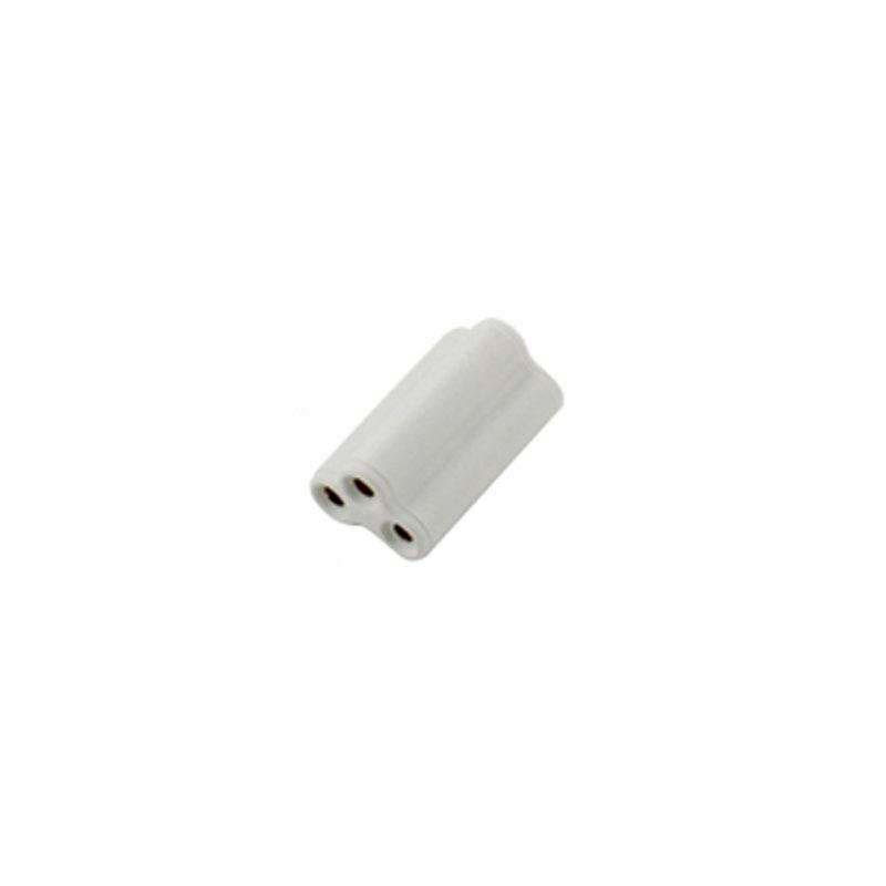 Conector de tubo T5 / T8 integrado, 2cm