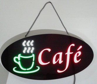 """Painel Publicitario LED """"CAFÉ"""""""
