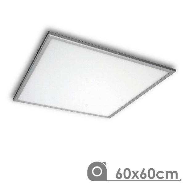 Painel LED 600x600 40W Prateado