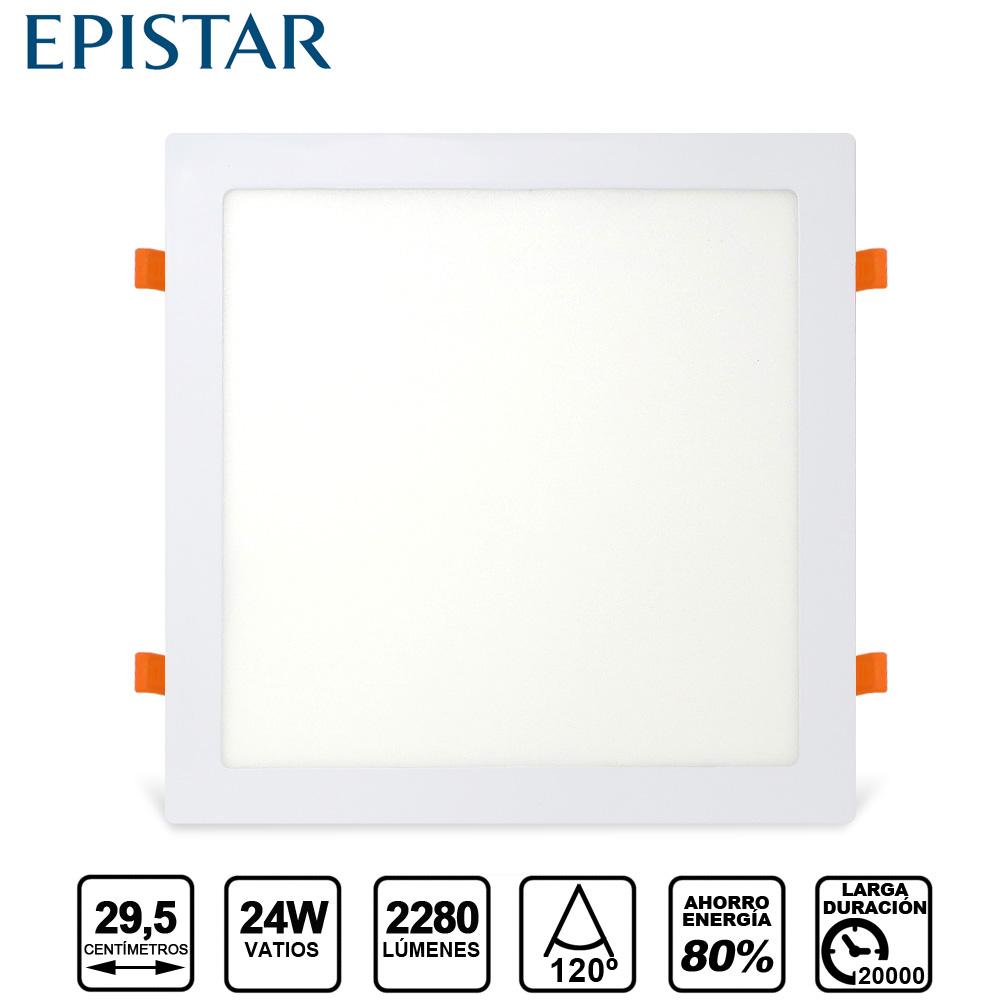 Painel LED  Quadrado 24W Branco