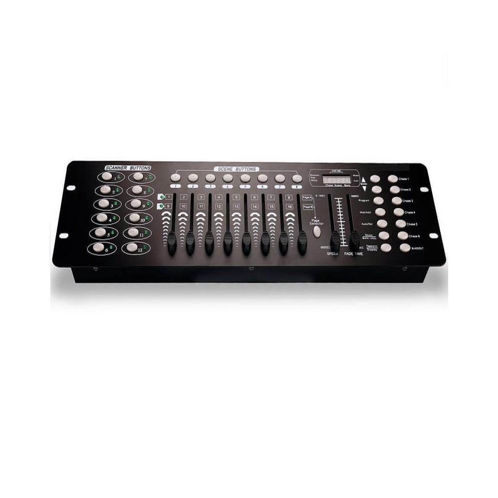 Mesa de Controle de Iluminação DMX512