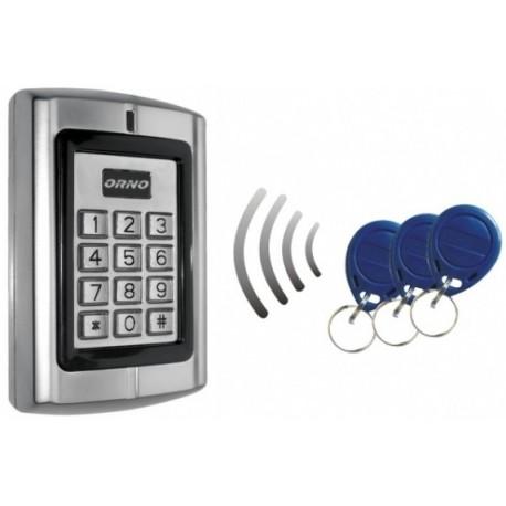 Leitor de Controlo de Acessos com PIN RFID 125KHZ - Orno