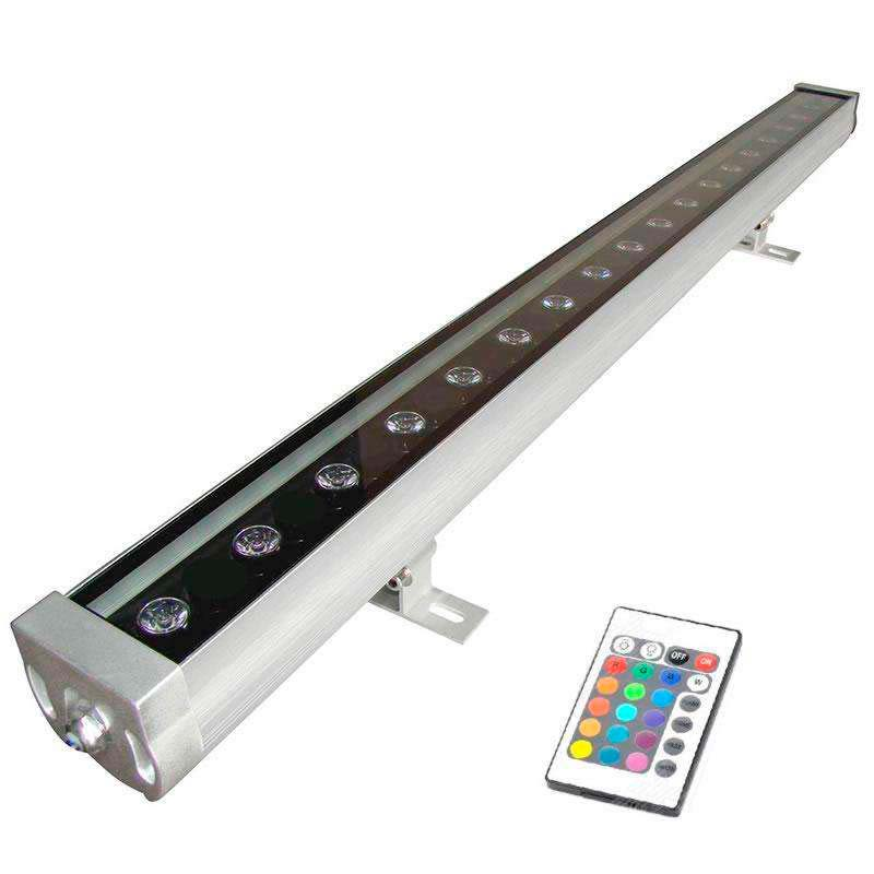 WallWasher Cortina LED 36W RGB   IP65 +RF