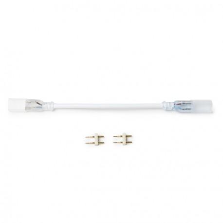 União com cabo para Fita LED 230Vac