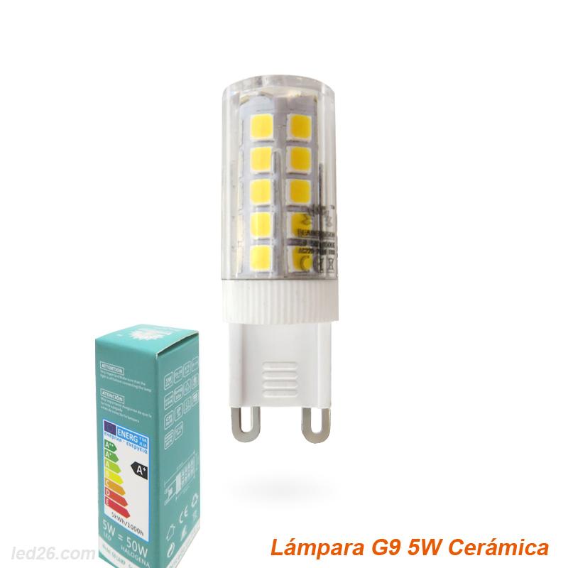 Lâmpada de LED G9 5W MOSCOW