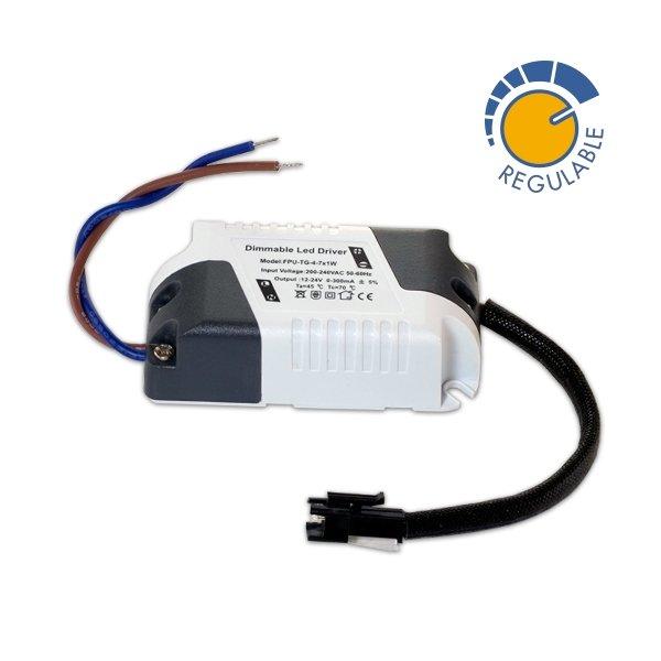 Driver p/ Painel LED  Dimável DE 3 A 7w