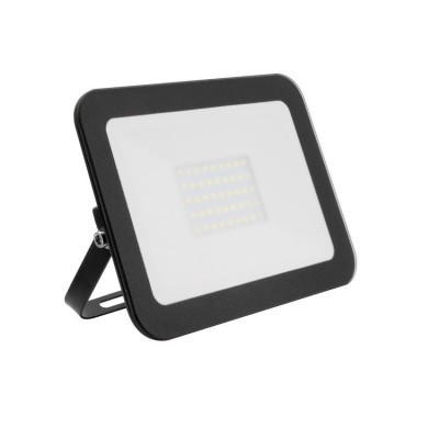 Projector LED Slim Cristal 100W Preto