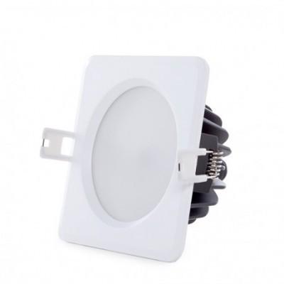 Downlight LED Quadrado 15W IP65