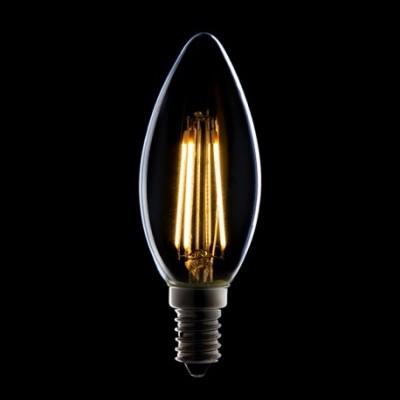 Lâmpada LED E14 Filamento Classic C35 2W