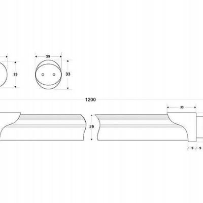 Tubo de LED T8 18W, 120cm, PLANT GROW Full Spectrum