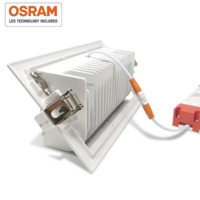Downlight LED 60W basculante NASAU