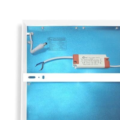 Painel  LED Saliente 48W Branco 120x30