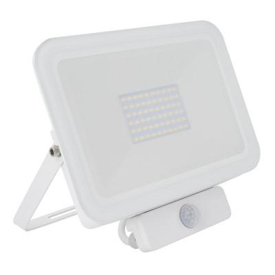Projector LED Slim com Detector de Movimento PIR 50W