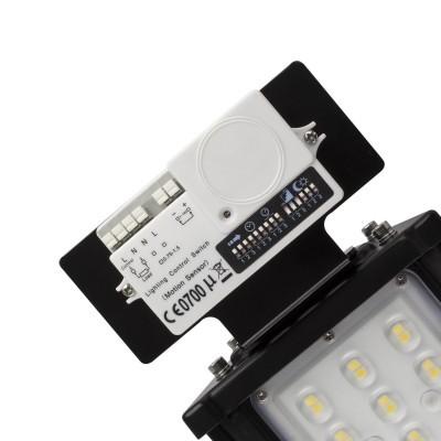 Kit Base + Sensor de Movimento para Campânulas Lineais MEAN WELL Regulável