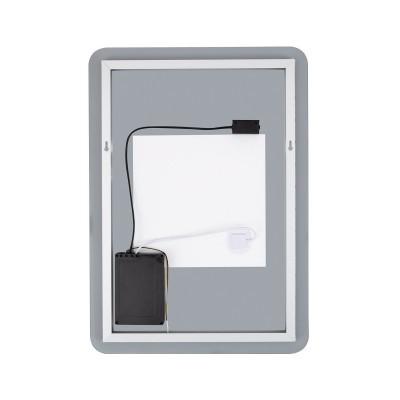 Espelho decorativo de LED selecionável CCT de Mykonos 55W