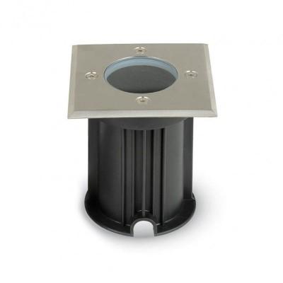 Projetor Pavimento GU10 IP65 Quadrado
