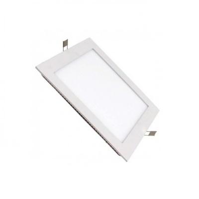 Painel LED Quadrado 6W Branco